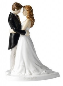 Royal Doulton Bride and Groom Figurines